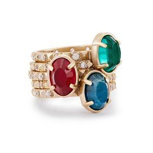 Kendra Scott Darci Stackable Ring Set